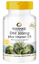 DIM 300mg plus Vitamin D3 Diindolylmethan  (120 Tabletten)