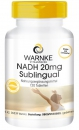 NADH 20mg sublingual Tabletten, vegan 120 Tabletten
